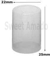 Lacre Termoencolhível mini garrafa 22mm x 25mm - Sweet Amado